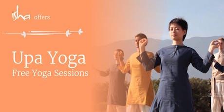 Upa Yoga - Free Session in Zagreb(Croatia) Tickets