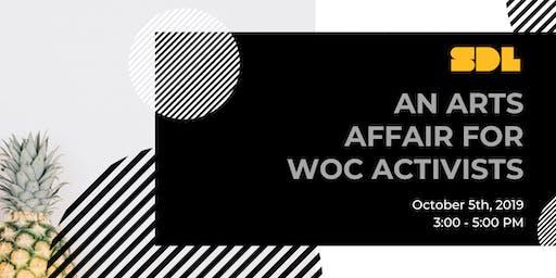 An Arts Affair for WOC Activists