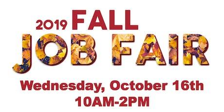 2019 Fall Job Fair tickets