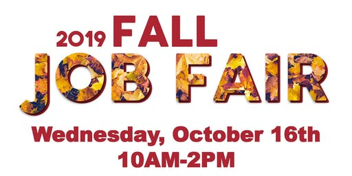 2019 Fall Job Fair