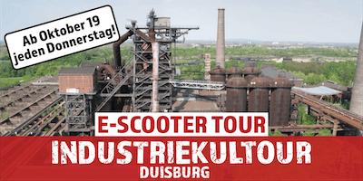 """E-Scooter Tour: \""""Industriekultour\"""" Duisburg"""
