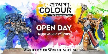 Citadel Colour Open Day tickets