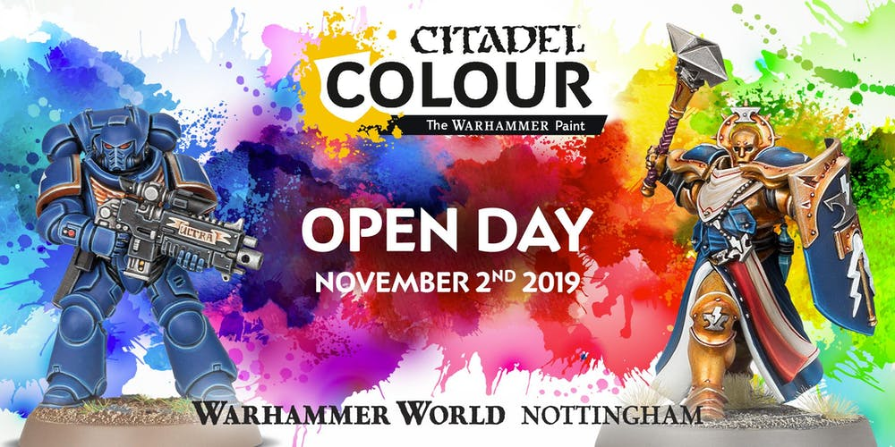 Paint Open Day