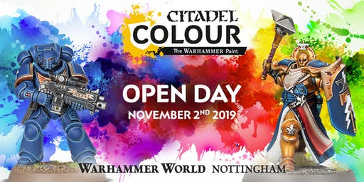 Citadel Colour Open Day