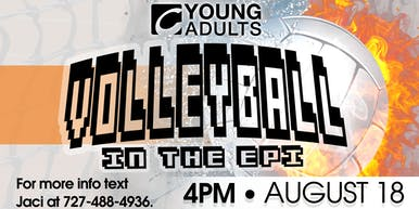Young Adults Volleyball in the Epi