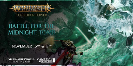 Warhammer Age of Sigmar: Forbidden Power - Battle for the Midnight Tomb