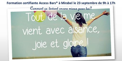 Classe certifiante Access Bars Laurentides
