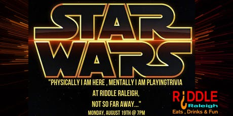 Star Wars Trivia at Riddle Raleigh tickets