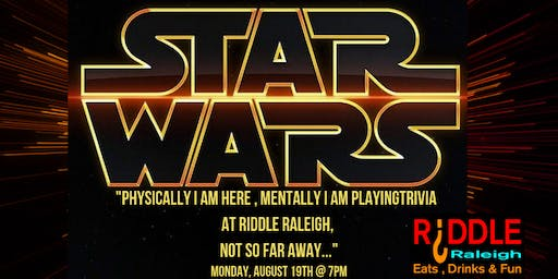 Star Wars Trivia at Riddle Raleigh