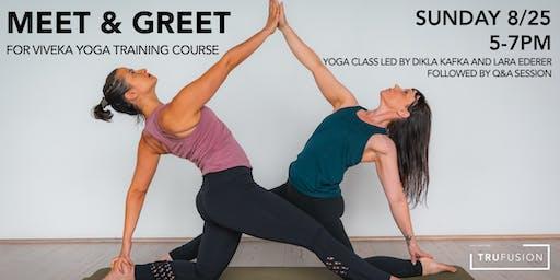 TruFusion/Viveka Yoga Meet & Greet
