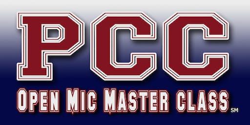 PCC: Open Mic Master Class