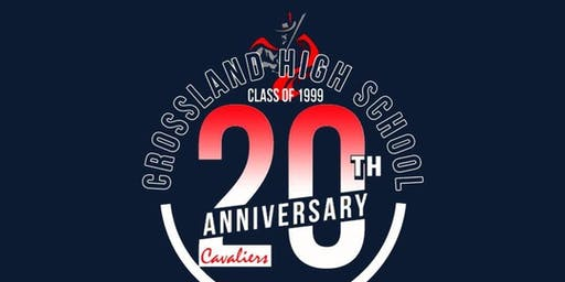 20 Year Class Reunion for Crossland High School Class of 1999