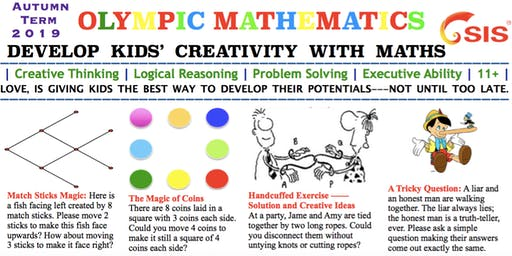 Enjoy Maths Games-- Olympic Mathematics for Kids' Creativity Development