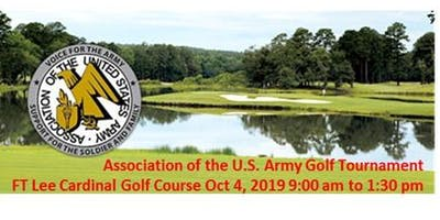 Local AUSA Chapters Golf Tournament on  4 OCT 2019