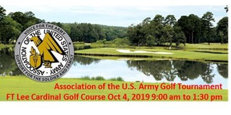 Local AUSA Chapters Golf Tournament on  4 OCT 2019 tickets