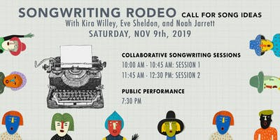 Songwriting Rodeo. Collaborative Songwriting Sessions