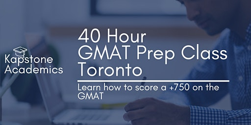GMAT Prep Course Toronto   Kapstone Academics