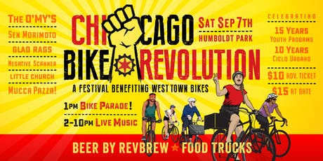 Chicago Bike Revolution with The O'My's / Sen Morimoto / Glad Rags + more @ Humboldt Park tickets