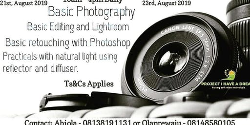 INTENSIVE PHOTOGRAPHY TRAINING