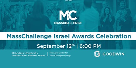 MassChallenge Israel 2019 Awards Ceremony in Boston tickets