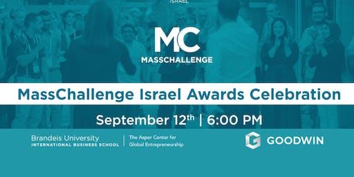 MassChallenge Israel 2019 Awards Ceremony in Boston