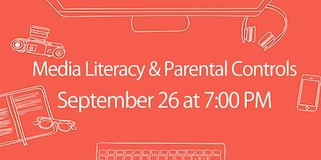 Media Literacy & Parental Control Workshop tickets