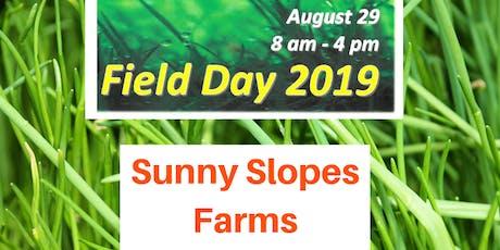 Summer 2019 Field Day tickets