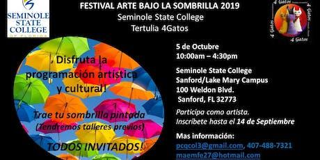 Festival Arte bajo la Sombrilla tickets