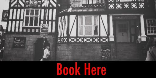 HALLOWEEN GHOST HUNT THE LION & SWAN CONGLETON 25/10/2019 **DEPOSIT OPTION