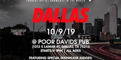 Coast 2 Coast LIVE Artist Showcase Dallas, TX - $50K Grand Prize tickets