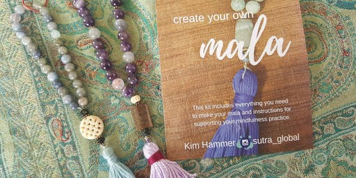 Mala Making at the New Moon