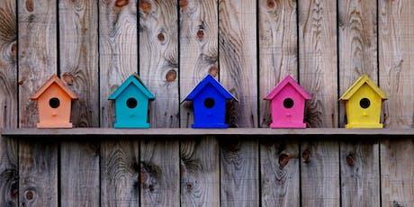 Paint Shop: Birdhouse Customization - San Francisco Union Square tickets