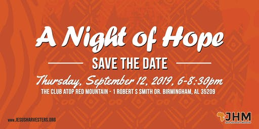 Jesus Harvesters Ministries - A Night of Hope