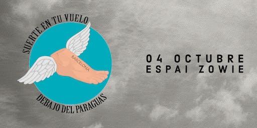DEBAJO DEL PARAGUAS EN BARCELONA SALA ESPAI ZOWIE