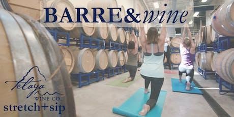 Barre&Wine tickets