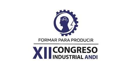"""XII Congreso Industrial """"Formar Para Producir"""" entradas"""