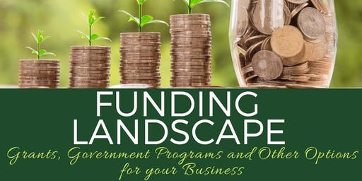 Funding Landscape: Grants, Government Programs and Other Options for your Business