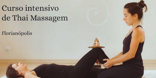 Curso intensivo de Thai Massagem em Florianópolis