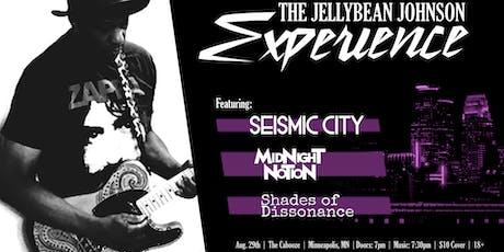 The Jelly Bean Johnson Experience tickets