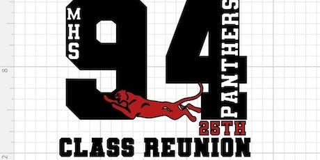 Magnolia High School Class of 1994 25th Reunion  tickets