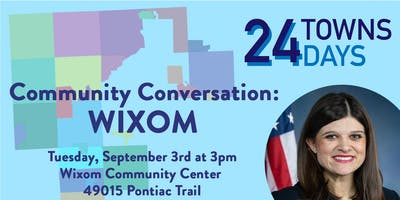 Congresswoman Haley Stevens (MI-11) - Community Conversation: Wixom