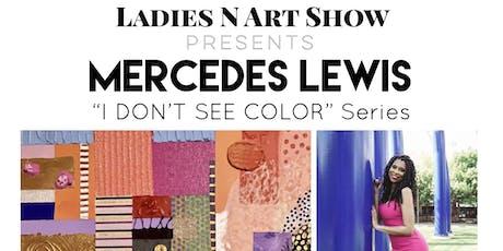 LNAS Mercedes Lewis Solo Art Show tickets