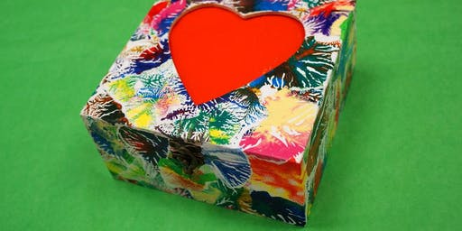 Decoupage Box Afternoon