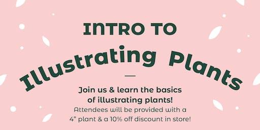 Intro to Illustrating Plants Workshop