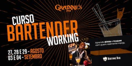 CURSO - BARTENDER WORKING / BERTONE BAR - NO GRAINNE'S tickets