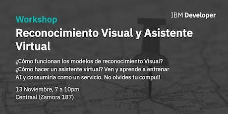 Reconocimiento Visual y asistentes virtuales boletos