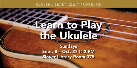 Learn to Play the Ukulele tickets