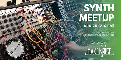 Synthesizer Meetup and Giveaway - Sponsored by Make Noise Co.! tickets