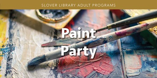Paint Party *Waitlist Available*