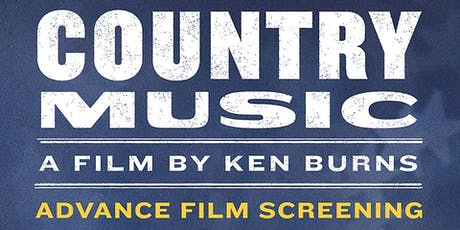 County Music Preview Screening tickets